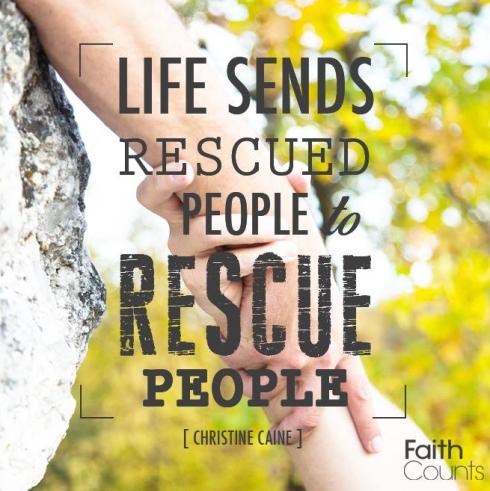 Rescued Rescuer
