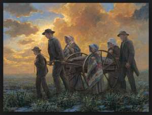 Exile of the handcart pioneers