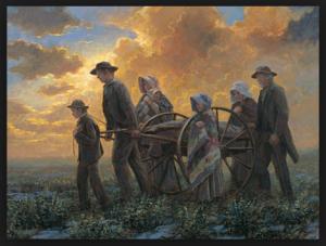 Exile of the handcart pioneers