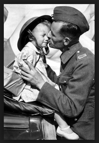 WWII daddy daughter