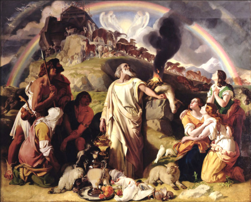Noah's Sacrifice by Daniel McClise