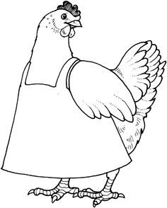little-red-hen-black-and-white-clipart-1